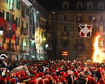 Storico Carnevale d'Ivrea - bed & breakfast l'aBBaino
