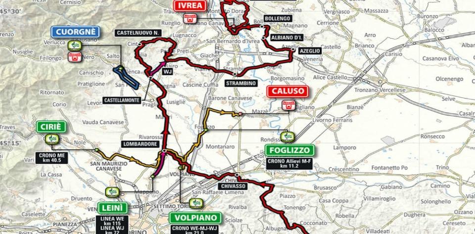 campionati italiani ciclismo 2017 percorsi gare-2